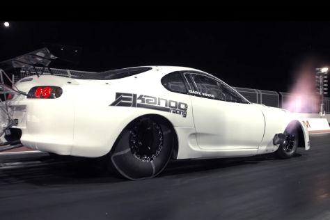 Getunter Toyota schafft Viertelmeile in sechs Sekunden