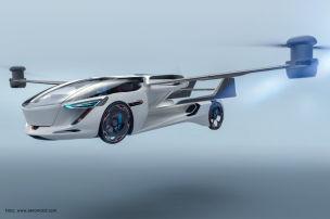 Flug-Autos von Audi und Co