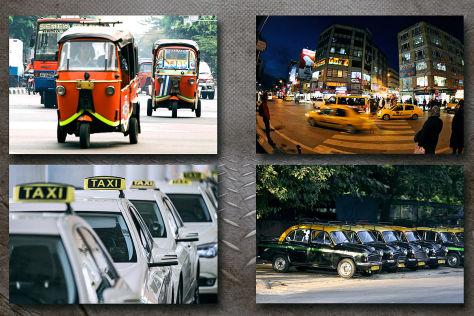 Taxi/Uber/Nahverkehr: Städtevergleich