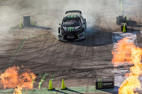Gymkhana 2014 Grid Finale in Madrid