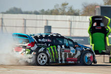 Ken Block siegt in Madrid