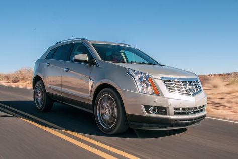 Cadillac SRX (2014): Fahrbericht