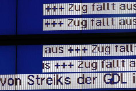 Lokführerstreik: Auswirkungen