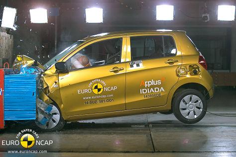 Euro NCAP Crashtest November 2014 Suzuki Celerio