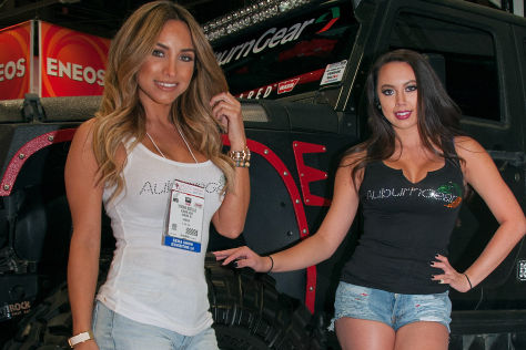 SEMA 2014: Hostessen in Las Vegas