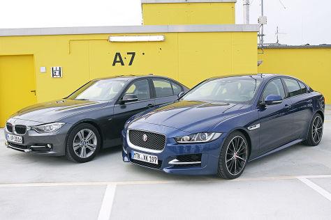 BMW 3er Jaguar XE