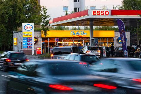Esso-Tankstelle