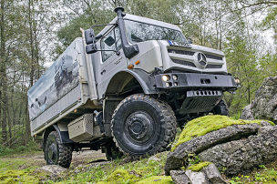 Daimlers Gelände-Wühler