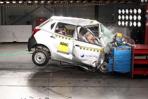 Global NCAP Crashtest: Indien