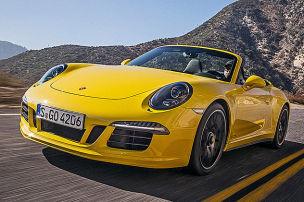 So fährt das 911 GTS Cabrio