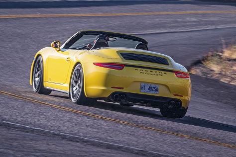 Porsche 911 C4 GTS Cabrio: Fahrbericht