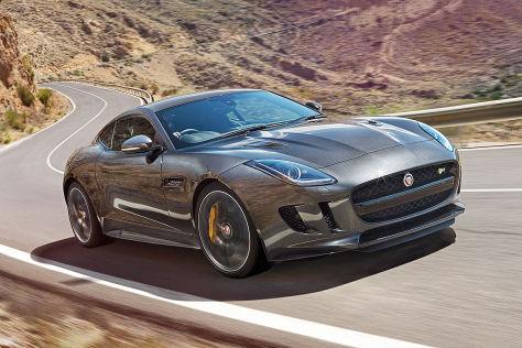 Jaguar F-Type R Coupé Frontansicht