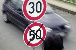 Ist Tempo 50 zu schnell?