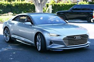 Erste Fahrt im künftigen Audi A9