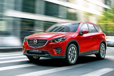 Mazda CX-5 Facelift (2015): LA Auto Show 2014