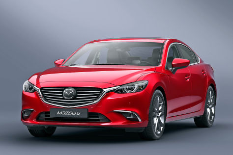 Mazda6 Facelift Frontansicht