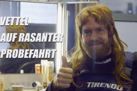 Vettel-Werbung
