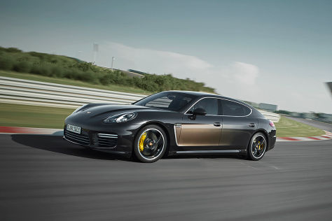 Porsche Panamera Exclusive: Los Angeles Auto Show 2014