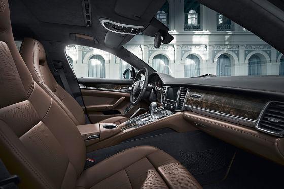 Porsche Panamera Exclusive Series Innenraum