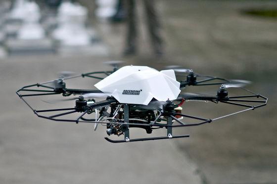 Drohne für Testflüge für myCopter