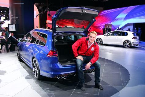 VW Golf R Variant LA Auto Show: Sitzprobe