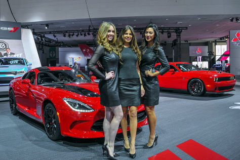 Los Angeles Auto Show 2014: Hostessen