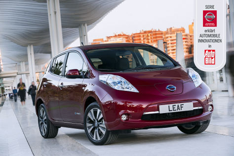 Nissan erklärt automobile Innovationen