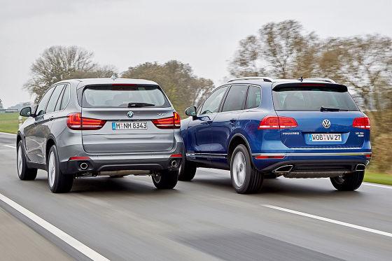 BMW X5 VW Touareg