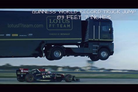 Truck-Weitsprung-Weltrekord