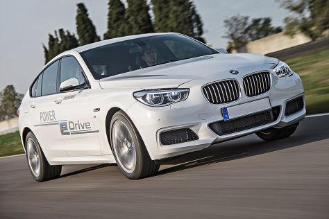 BMW Prototyp Power eDrive: Erste Fahrt