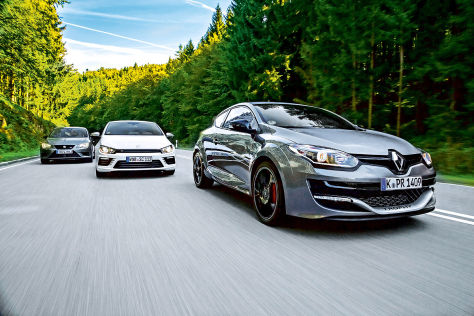 Vergleichs-Test: Renault/Seat/VW