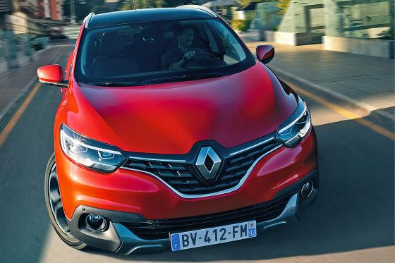 Renault Kadjar Motorhaube
