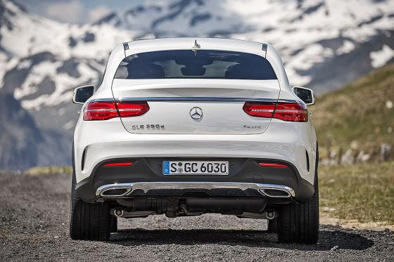 mercedes gle coupé (2015) test: fahrbericht - autobild.de