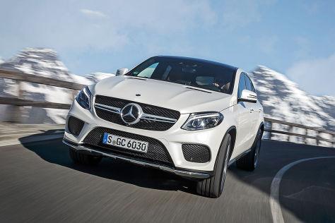 Mercedes GLE Coupé Prototyp