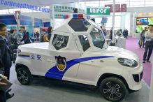 China-Polizei hat Rundumblick