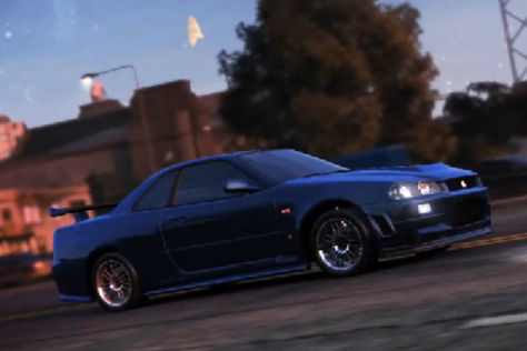 Nissan Skyline GT-R (R34) aus The Fast and the Furios
