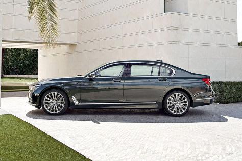 BMW 7er Erlkonig G12