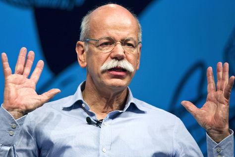Daimler-Chef Dieter Zetsche im Interview