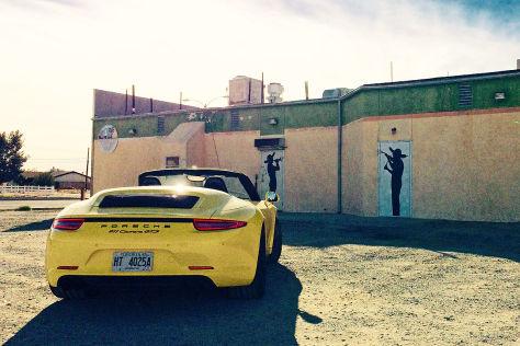 Porsche 911 GTS in Kalifornien