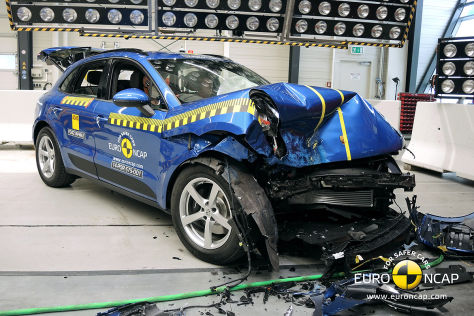 Porsche Macan: Euro NCAP Crashtest