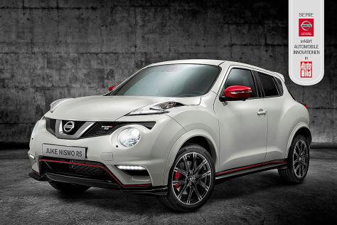 Nissan erklärt automobile Innovationen
