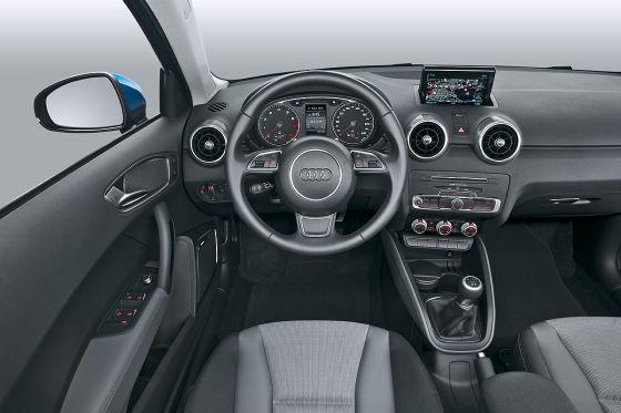 Audi a1 sportback facelift 2015 fahrbericht for Interieur audi a1