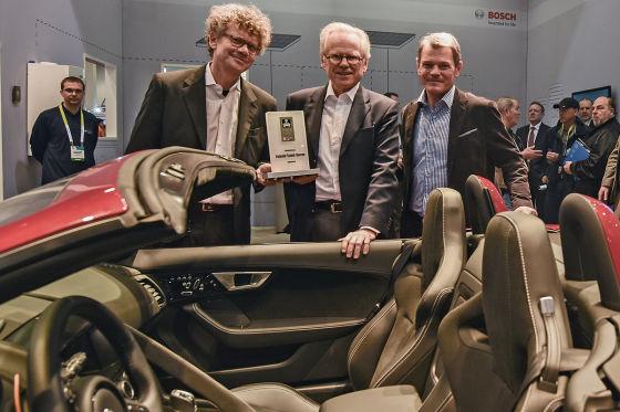 Audi TT ist das Connected Car des Jahres