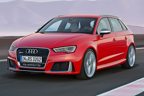Audi RS 3 Sportback Frontansicht