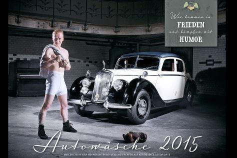 Cover Autowäsche Kalender 2015
