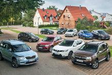 Die Top 10 der SUVs im Check