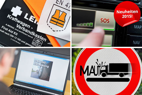 Fahrzeugabmeldung, Kennzeichen, eCall, Abgasnorm