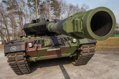 Kampfpanzer Leopard 2A7: Vorstellung