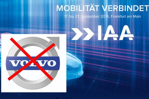 Montage IAA 2015 Volvo