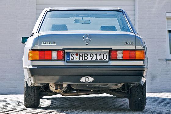 Ein Luxus-Benz im Kleinformat: Der 190 E 2.6